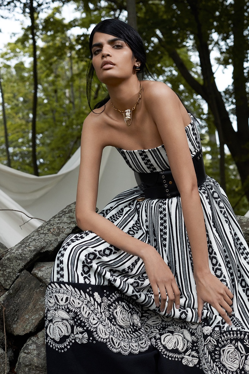 Bhumika Arora Wears Dior's Resort Line for Mojeh Magazine