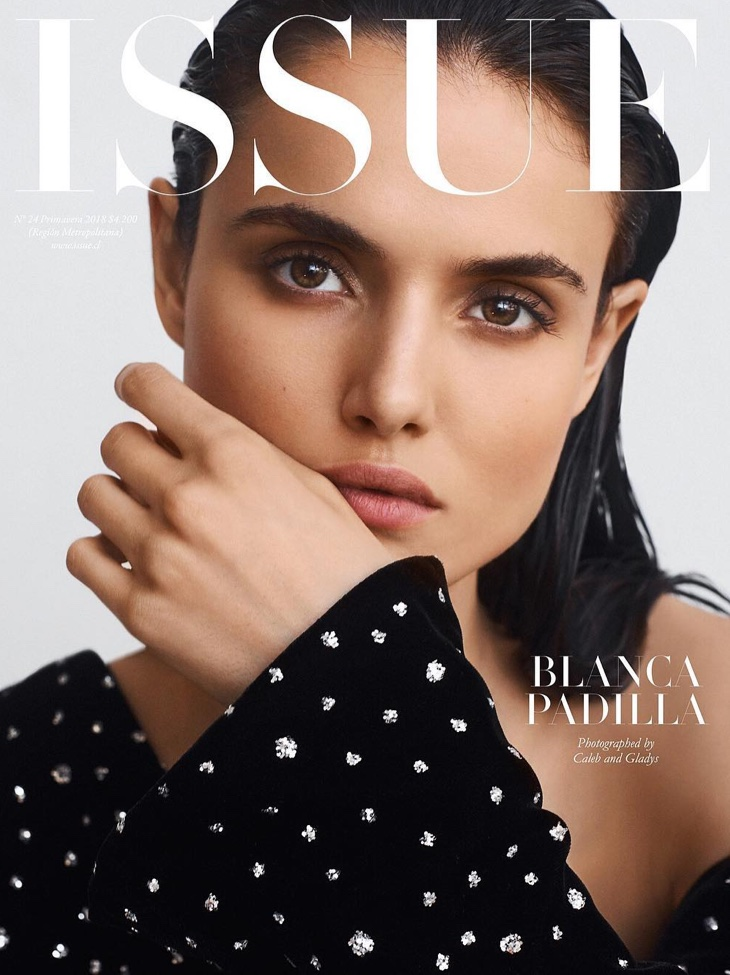 Blanca Padilla on Issue Magazine Spring 2018 Cover