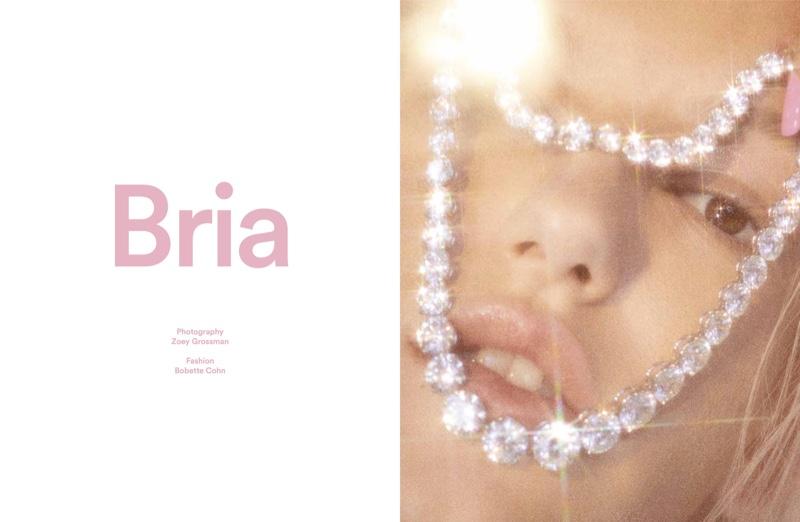 Bria Vinaite stars in Exit Magazine Fall-Winter 2018 issue