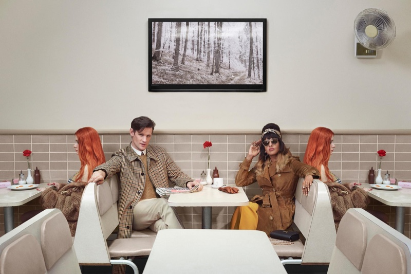 Matt Smith and M.I.A. front Burberry Christmas 2018 campaign