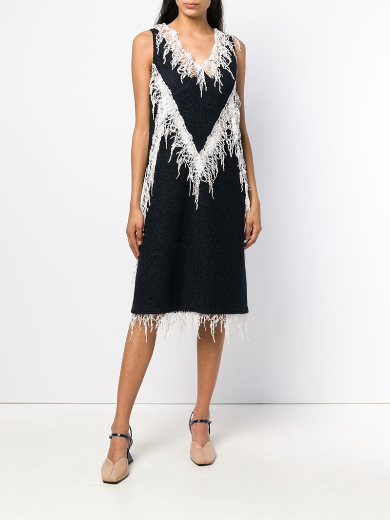 Calvin Klein 205W39NYC Embellished Flared Midi Dress $1,172 (previously $2,343)