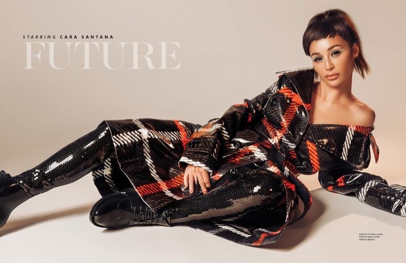 Photographed by Ryan Jerome, Cara Santana poses for InLove Magazine