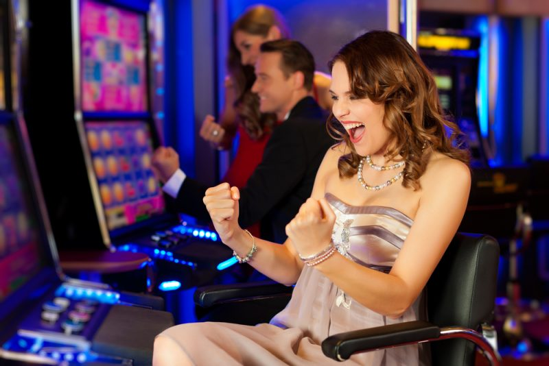 Casino Slot Machine Womens Style