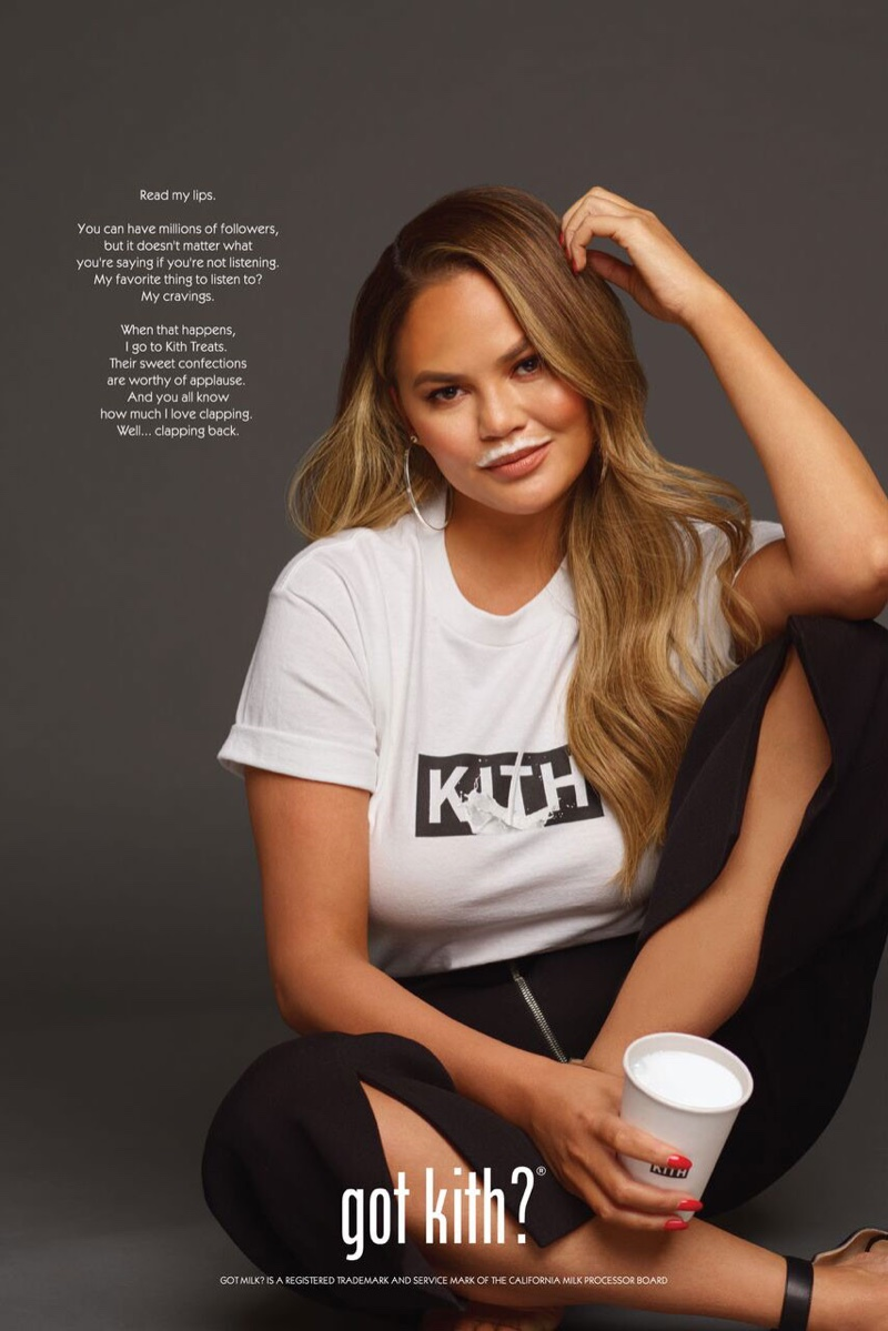 Chrissy Teigen stars in Got Kith campaign for Kith Treats