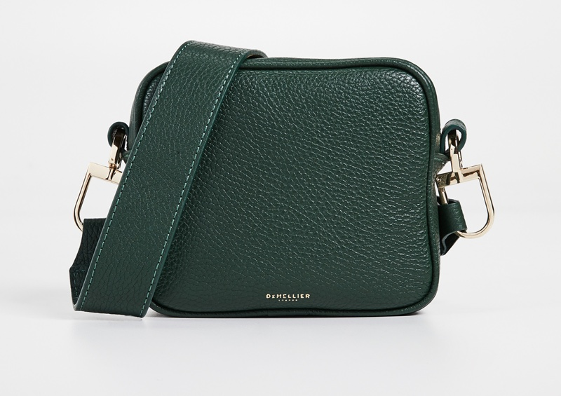 DeMellier The Athens Bag in Forest Green $330