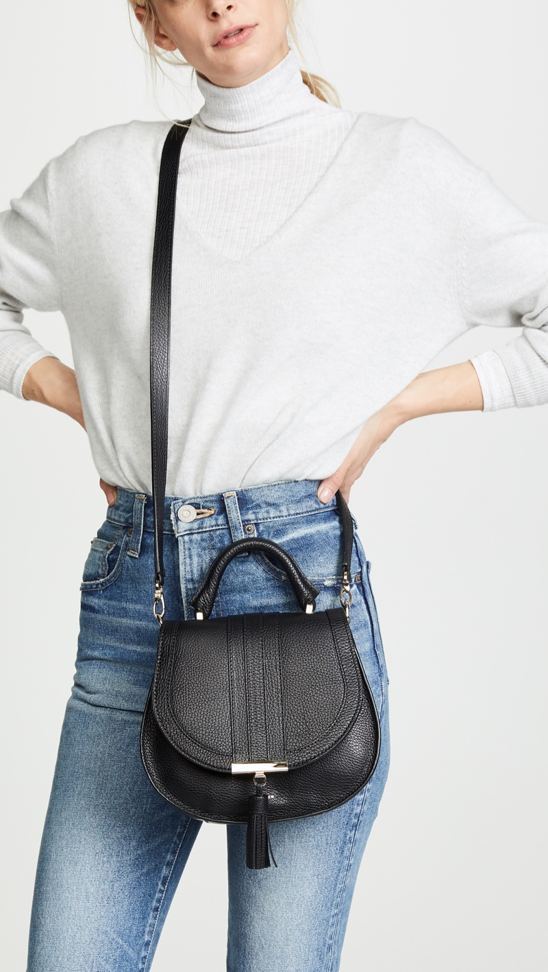 DeMellier The Mini Venice Bag in Black $395