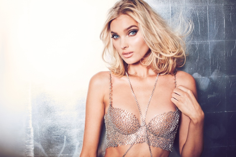 Elsa Hosk models Victoria's Secret 2018 Fantasy Bra. Photo: Victoria's Secret