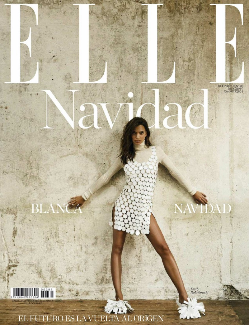 Emily Ratajkowski Shines in Paco Rabanne Styles for ELLE Spain
