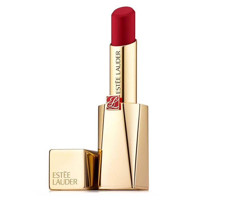 GET THE LOOK: Estée Lauder Pure Color Desire Rouge Excess Creme Lipstick $44
