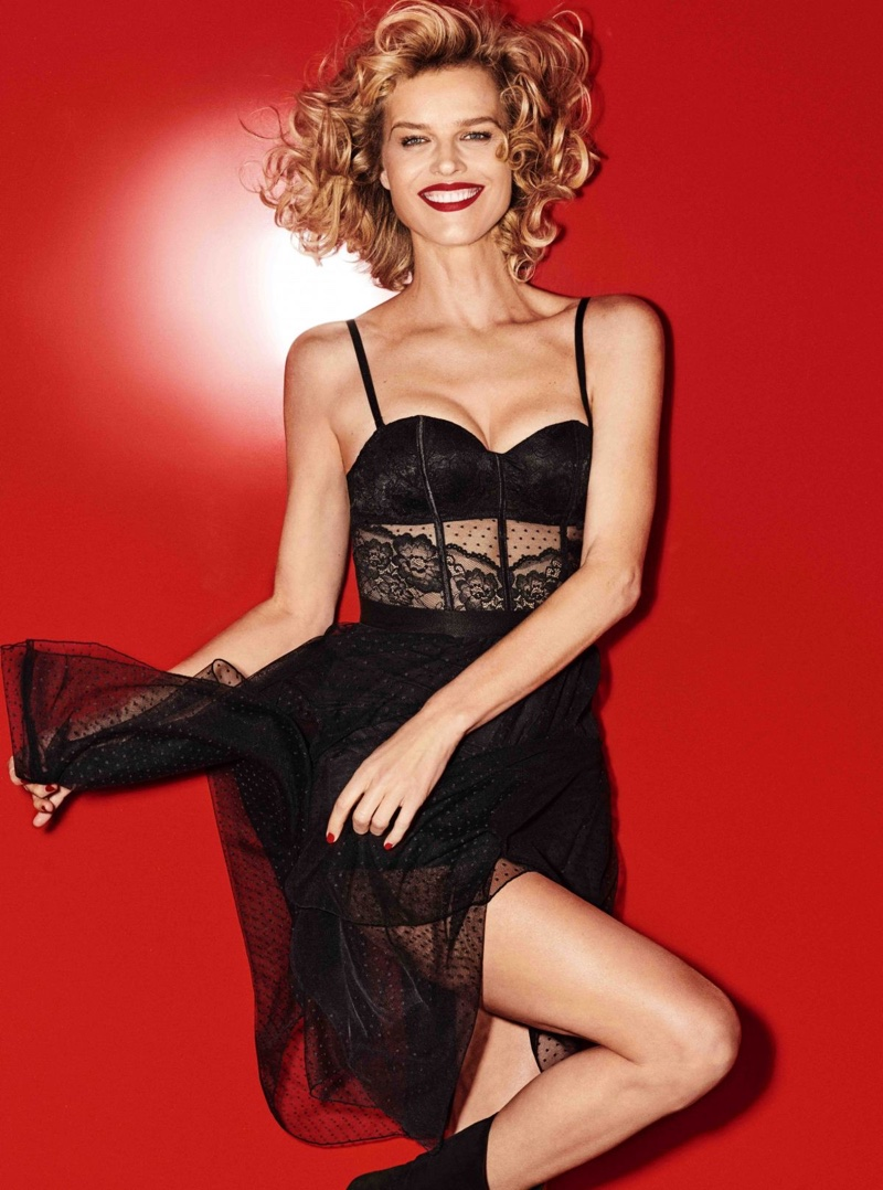 Italian lingerie brand Yamamay enlists Eva Herzigova for its Christmas 2018 campaign