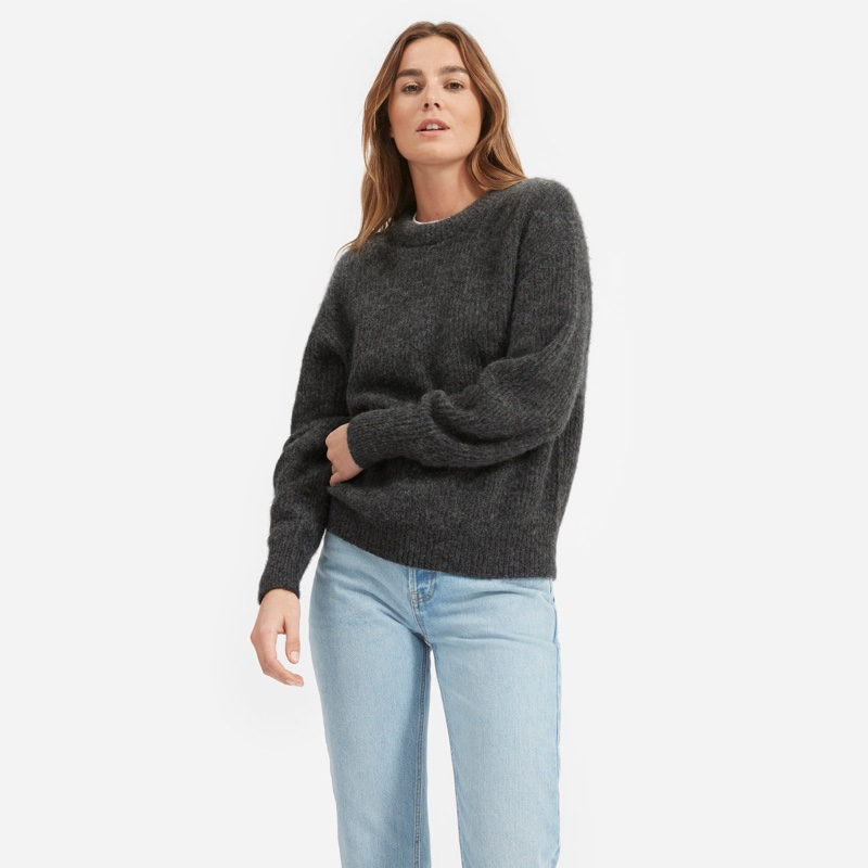 Everlane Launches Super Cozy Alpaca Sweaters