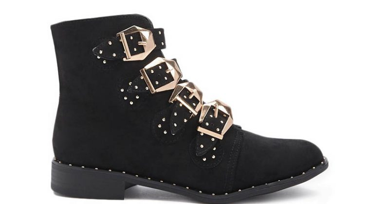 Take On the Western Trend in a Buckle Boot