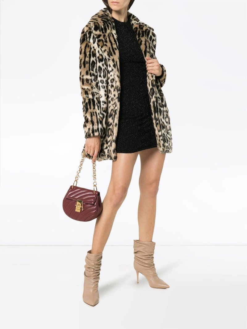 Frame Cheetah Print Faux Fur Coat $417 (previously $834)