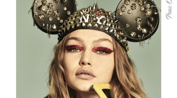 Gigi Hadid on Chaos Magazine True Originals 2018 Cover