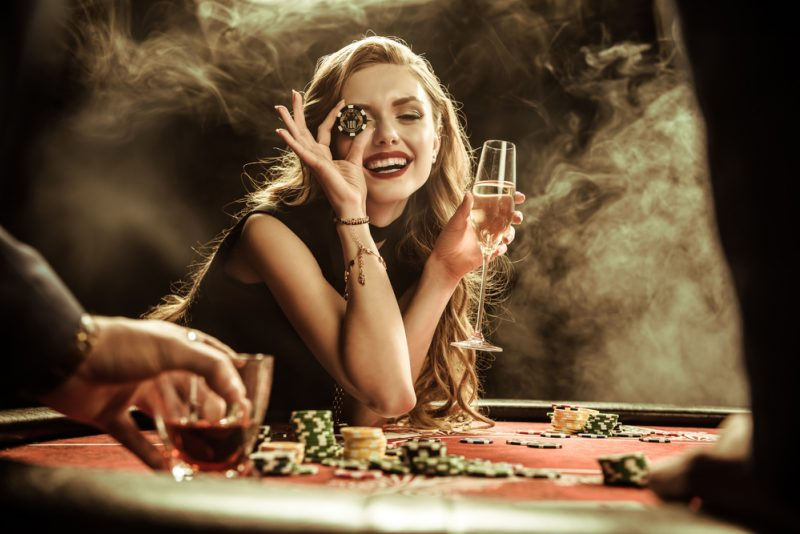 Glam Casino Woman