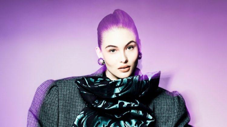 Grace Elizabeth Embraces Power Dressing for Vogue China
