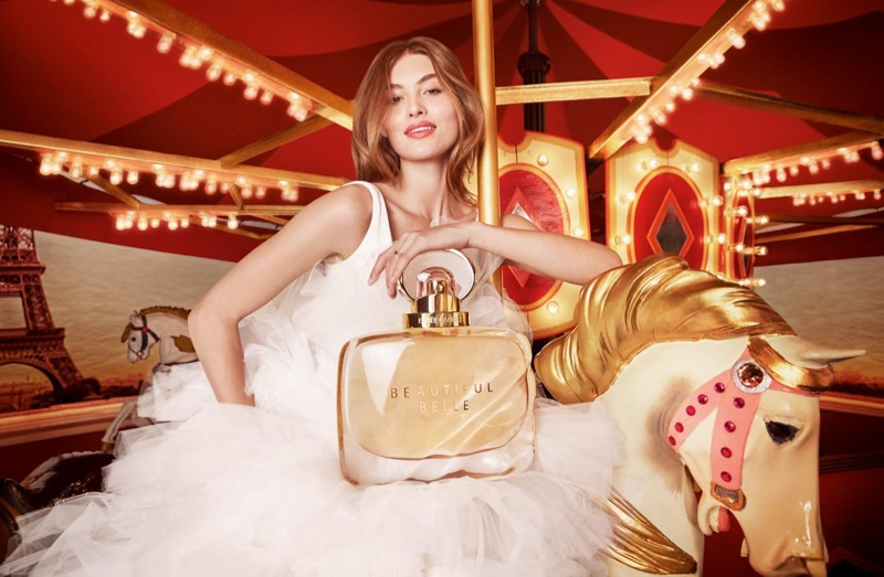 Grace Elizabeth Wows in Her Latest Estee Lauder Ads