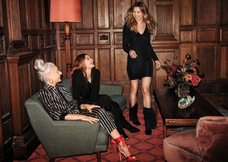 H&M spotlights evening styles for its Holiday 2018 campaign