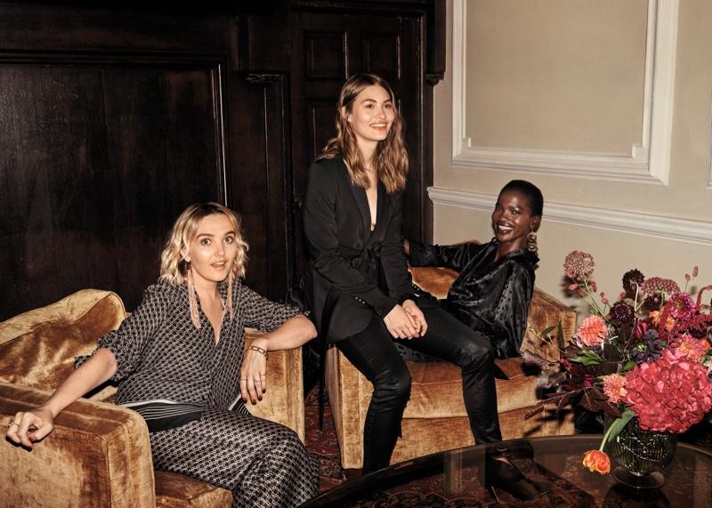 Grace Elizabeth fronts H&M Holiday 2018 campaign
