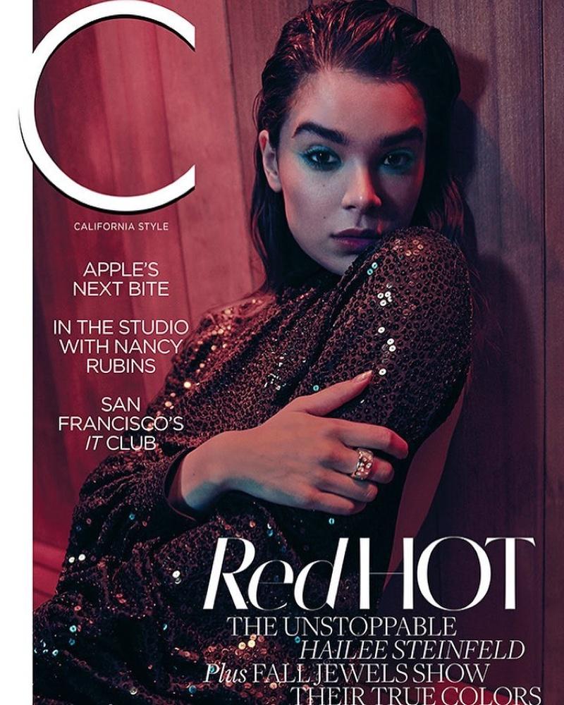 Hailee Steinfeld on C Magazine November 2018 Cover