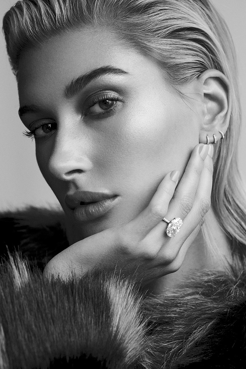 Hailey Baldwin Delivers Opulence for Vogue Arabia