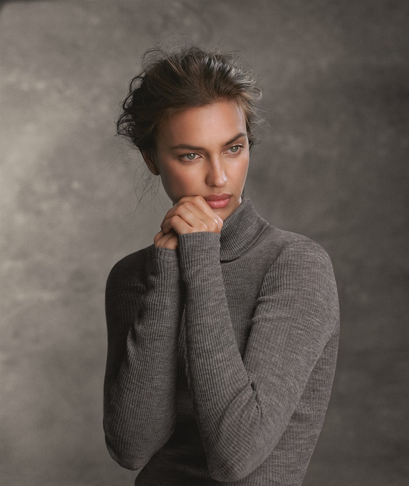 Irina Shayk stars in Intimissimi Ultra Light with Cashmere campaign