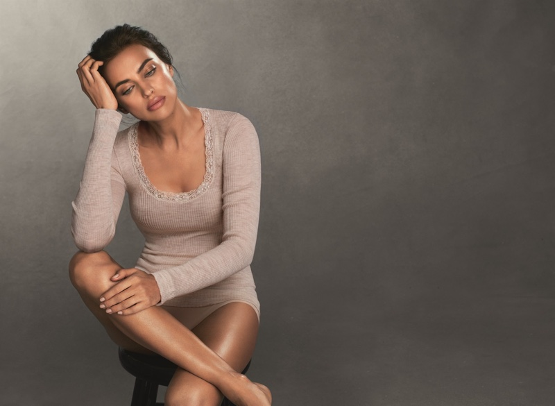 Intimissimi taps Irina Shayk for its Ultralight with Cashmere campaign