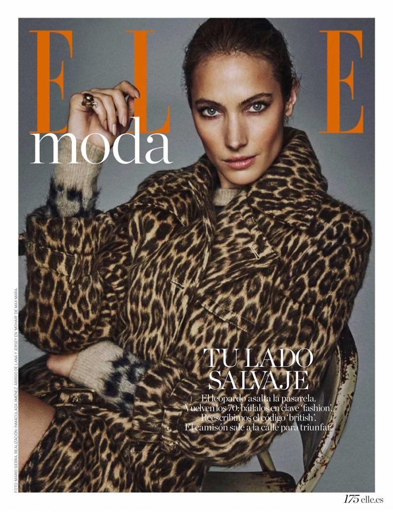 Jessica Miller Embraces Animal Print for ELLE Spain