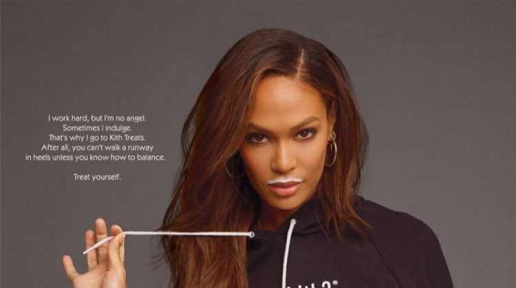 Joan Smalls fronts Got Kith campaign for Kith Treats