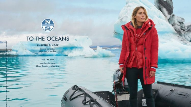 Joana Schenker stars in North Sails Winter 2018 campaign
