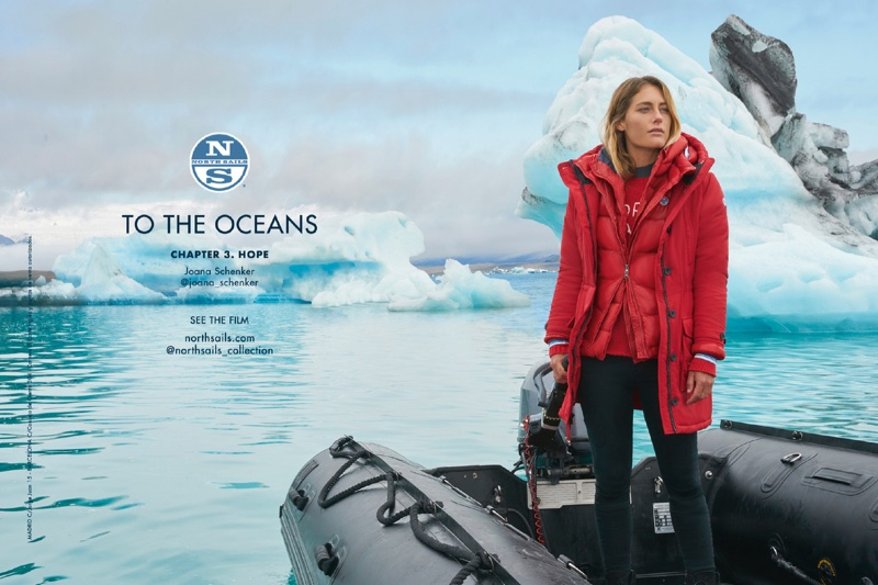 Joana Schenker Heads to Iceland for North Sails Campaign