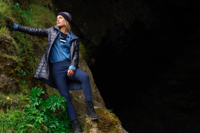 North Sails taps Joana Schenker for its Winter 2018 campaign