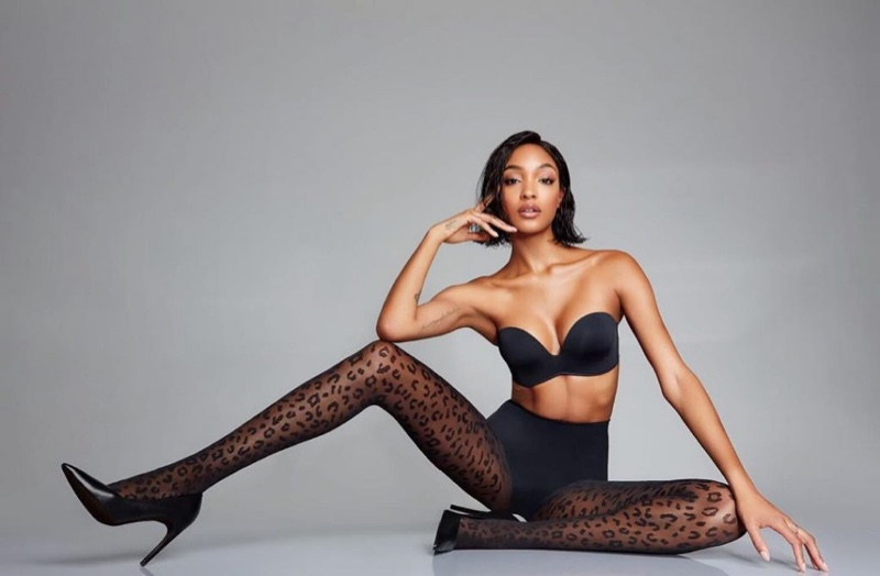 Jourdan Dunn stars in Calzedonia fall-winter 2018 campaign