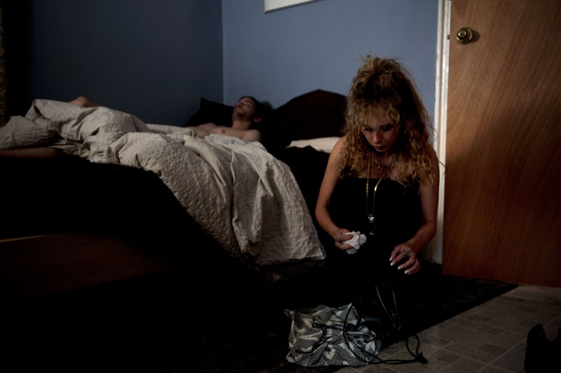 Juno Temple poses in The Endings. Photo: Caitlin Cronenberg