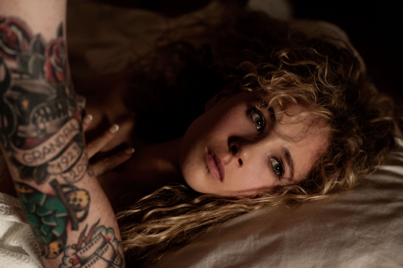 Actress Juno Temple appears in The Endings. Photo: Caitlin Cronenberg