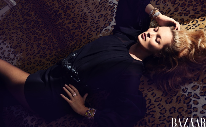 Kate Moss Wears Ladylike Styles for Harper's Bazaar