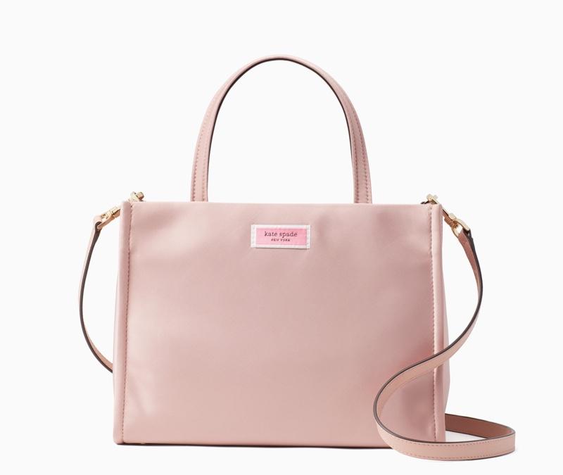 GET THE LOOK: Kate Spade Sam Medium Satchel Bag in Pink $198