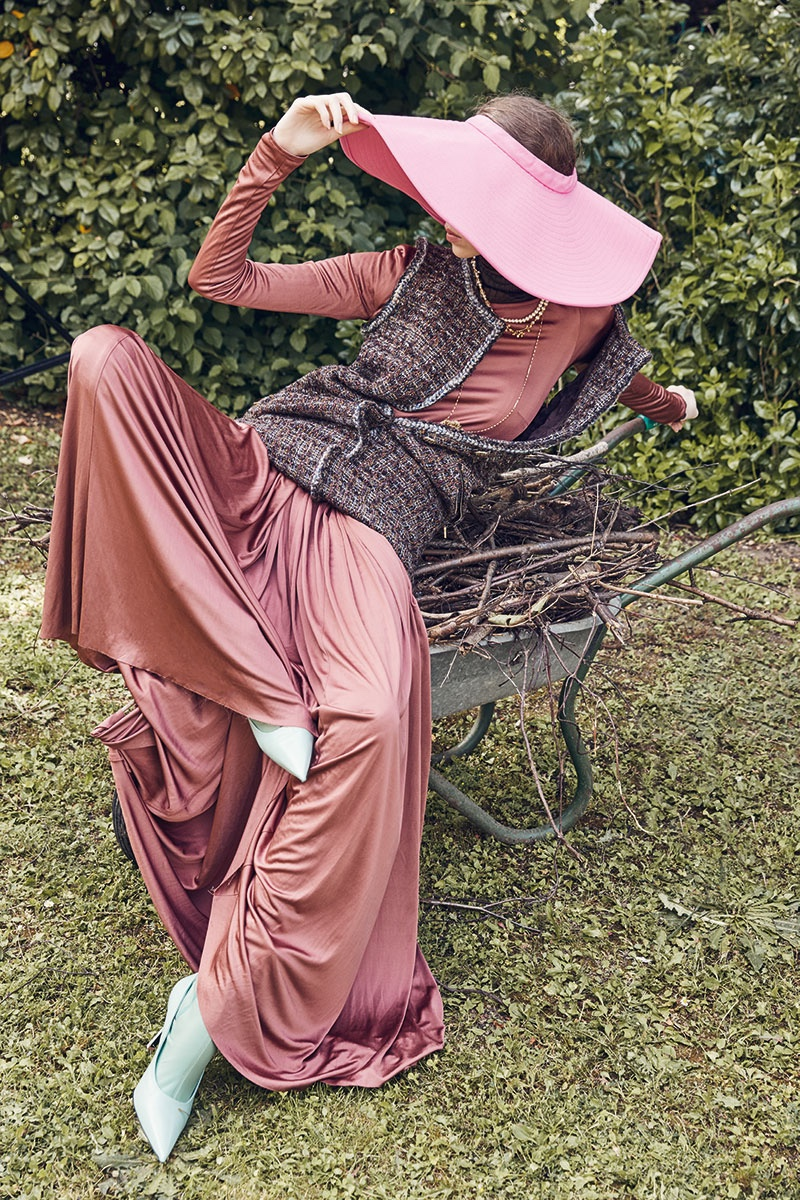 Lorena Maraschi Layers Up in Fall Style for Flair Magazine