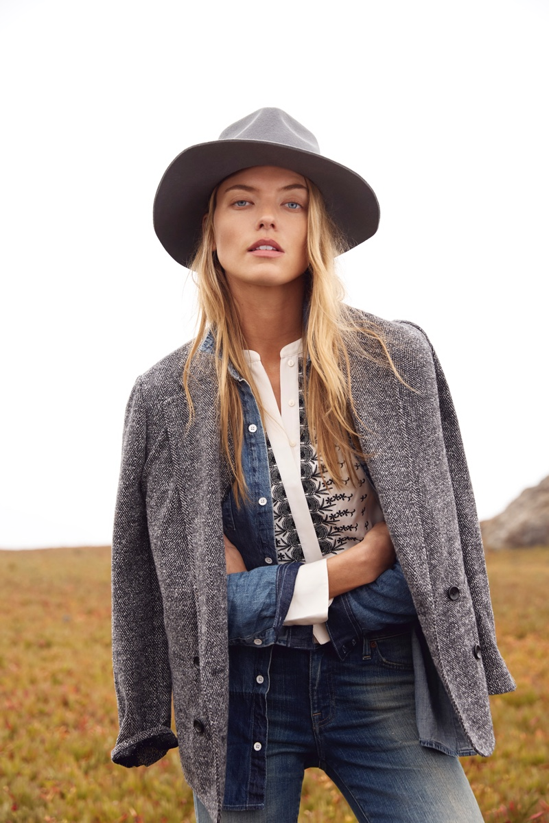 Martha Hunt & Devon Windsor Get Away for Lucky Brand Holiday '18 Campaign