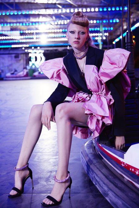 Maryna Polkanova Gets Glam at the Carnival for Harper's Bazaar Mexico