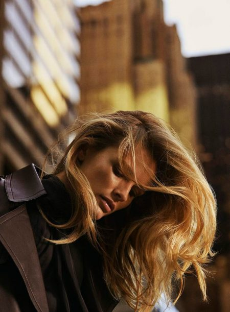 Edita Vilkeviciute Goes From Day to Night in Massimo Dutti