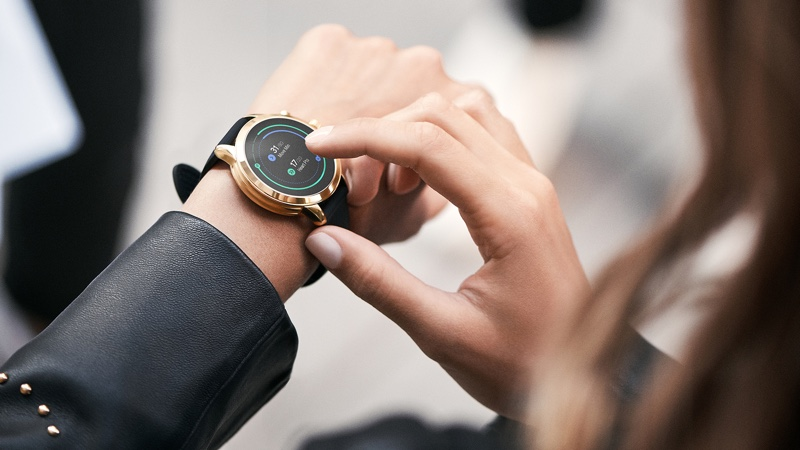 A photo of the Michael Kors Access Runway Smartwatch