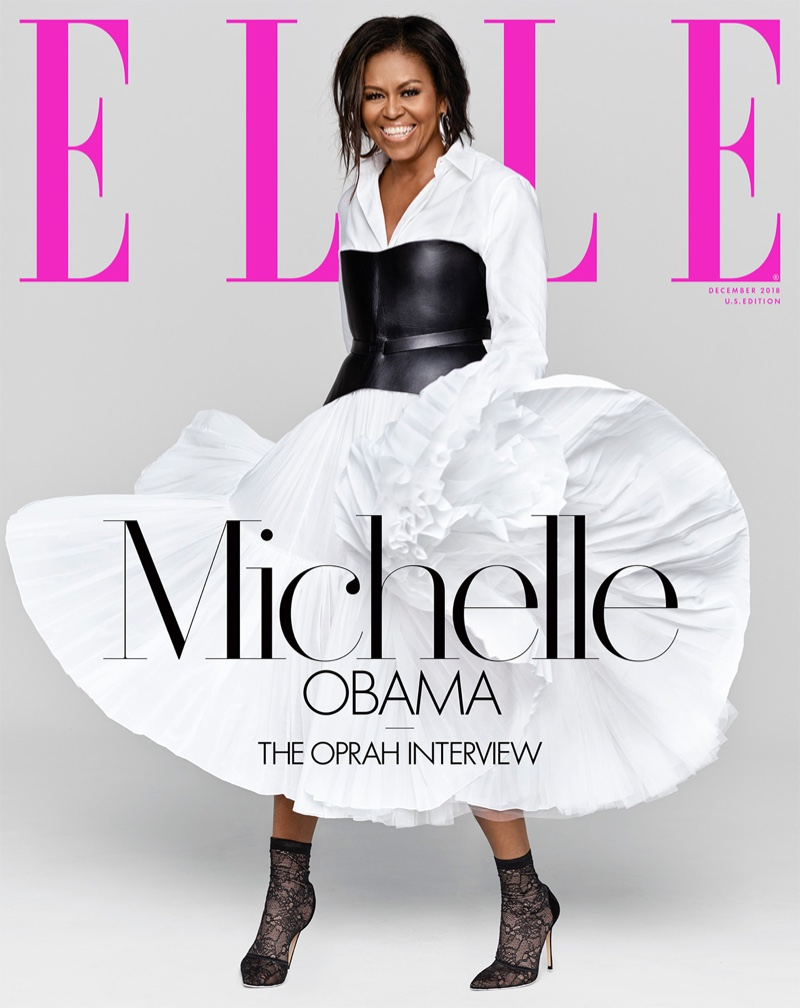 Michelle Obama on ELLE US December 2018 Cover
