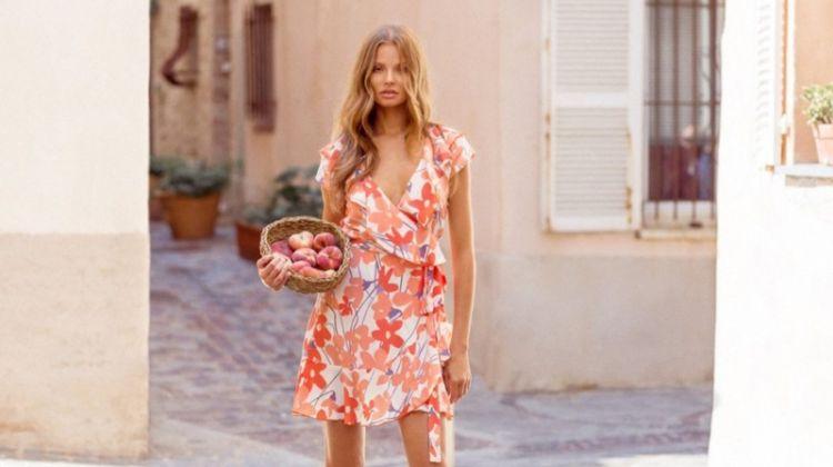 Magdalena Frackowiak Models Mister Zimi's Sunny Spring Dresses