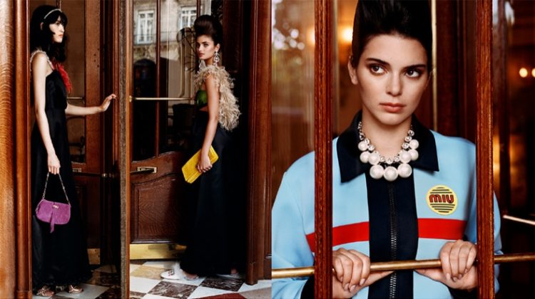 Kendall Jenner fronts Miu Miu cruise 2019 campaign