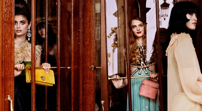 An image from the Miu Miu cruise 2019 campaign