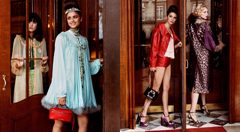 Cami You Ten, Taylor Hill, Kendall Jenner and Gwendoline Christie star in Miu Miu cruise 2019 campaign