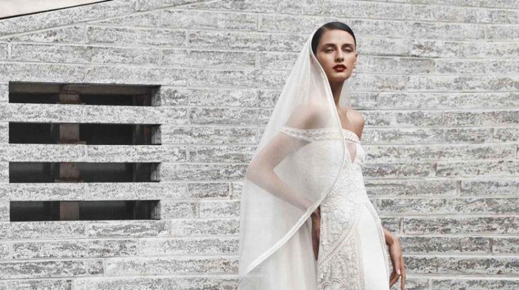 Naeem Khan Bridal's Fall 2019 Line Features Sleek Designs