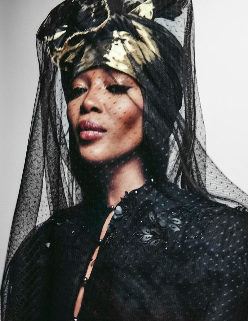 Naomi Campbell Slays Fall Fashion for Vogue Arabia