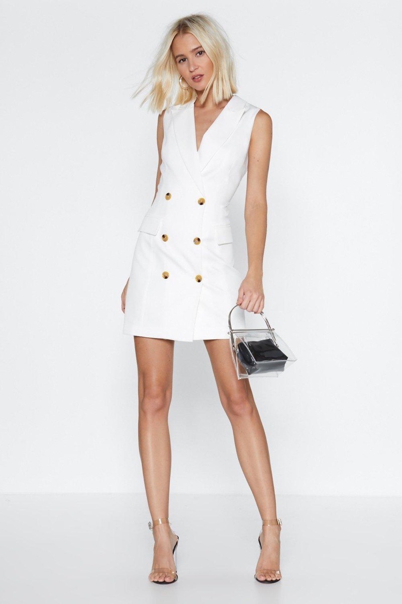 Nasty Gal Follow Suit Blazer Dress $28 (previously $70)